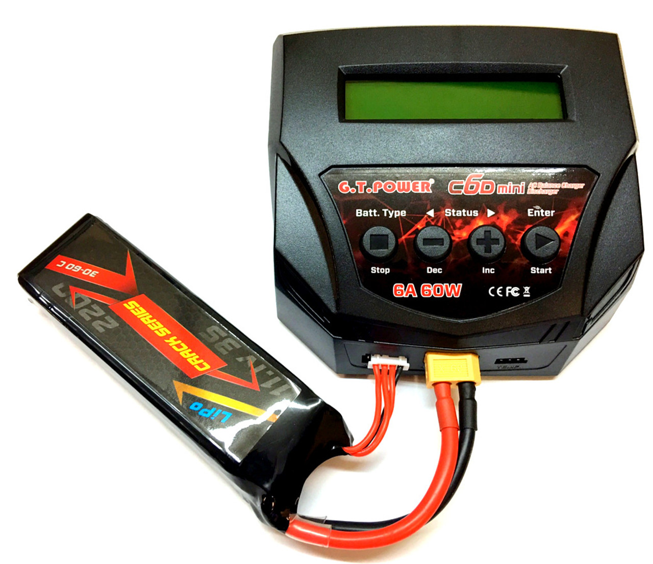 Lipo G.T. Power C6D MINI BALANCING 2s-4s 6A / 60W