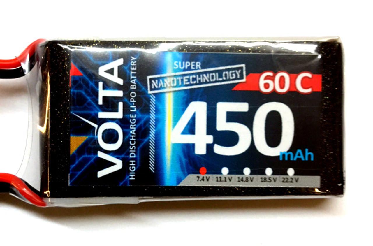 Volta 2S 450mah 60-80c Lipo