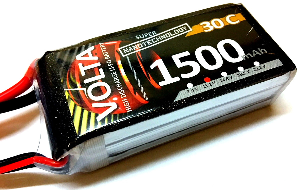 Volta 3S 1500mah 30~60c Lipo
