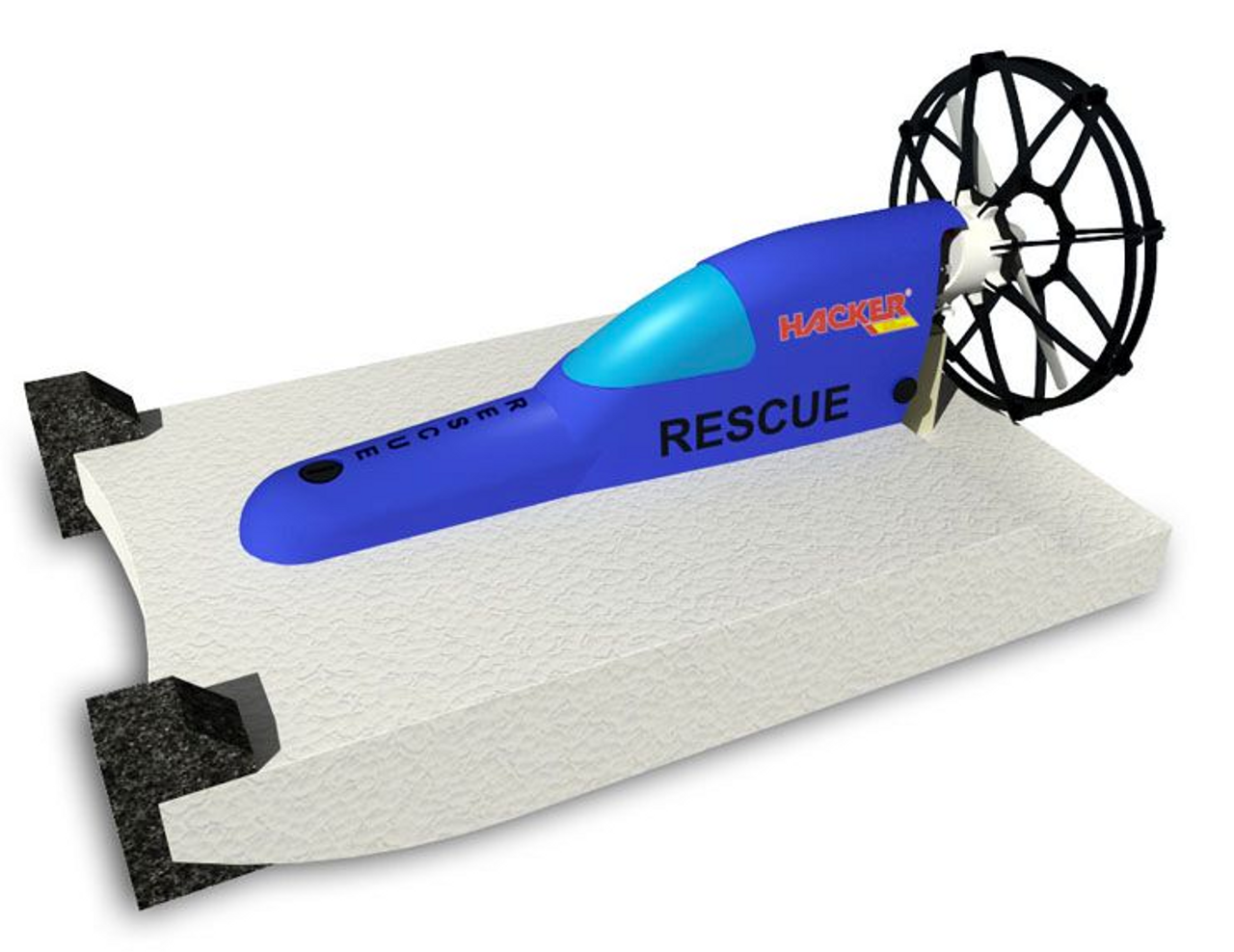 HM - RESCUE - EPP Boat Kit - Blue