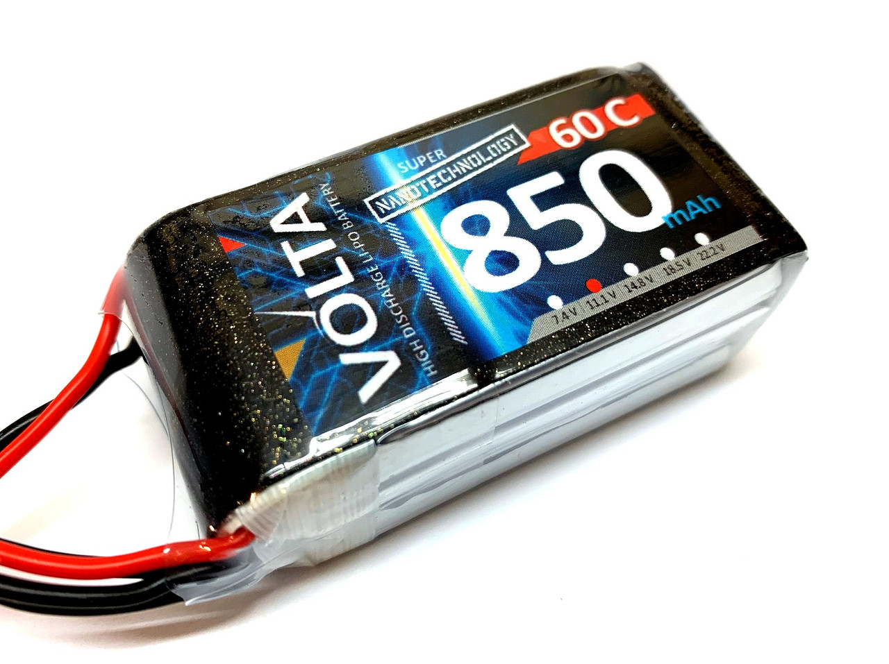 Volta 3S 850mah 60~80c Lipo
