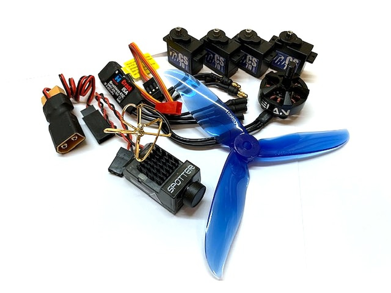 """Power Combo 44"""" ProXy W/ Spotter V2"""