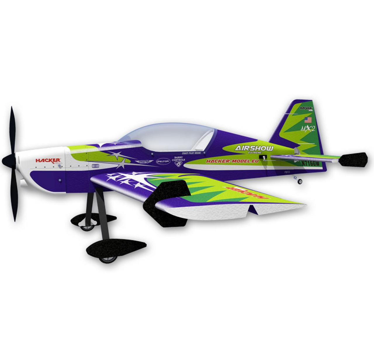 """HM 48"""" EPP 1200 MX 2 - Full Fuse - Green"""