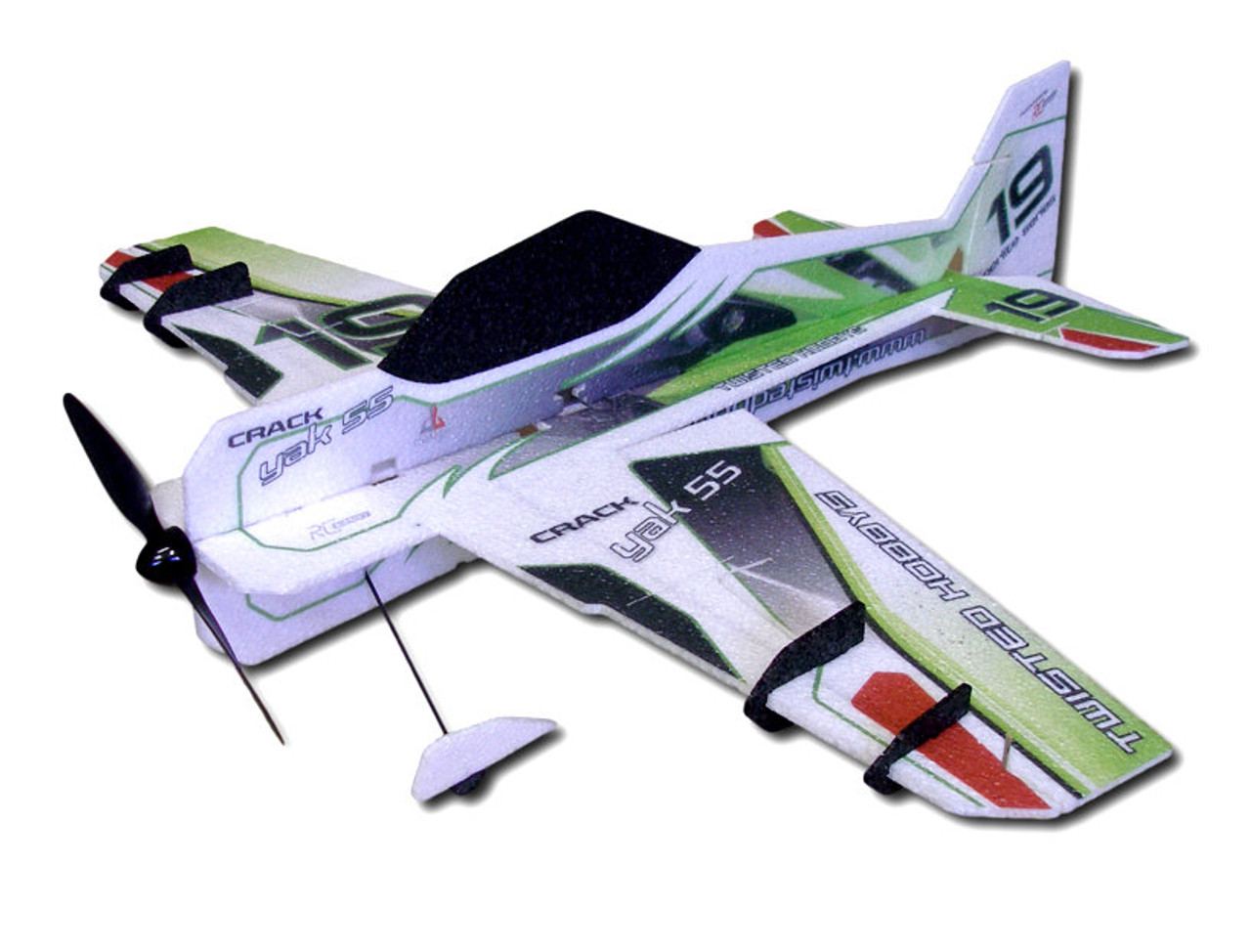 "TH 32"" EPP Crack Yak-55 ""SUPER-LITE"" Green"