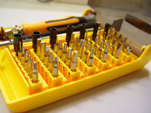 45 pcs Screw Drive Tool Set