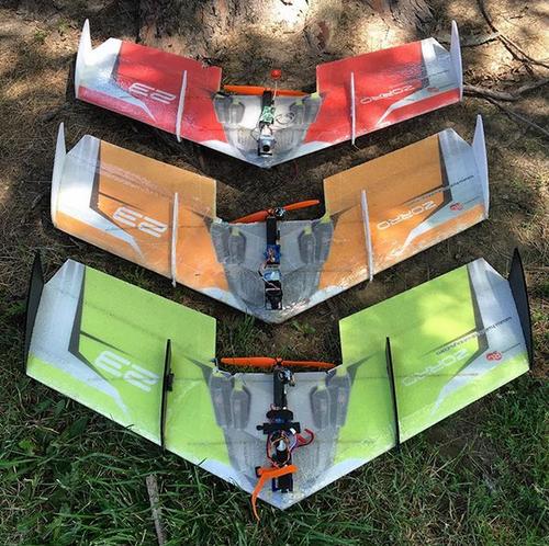 "TH 35"" EPP ZORRO Wing - Green"