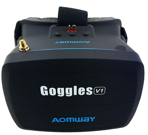 Aomway VR Goggles V1 5.8G 40CH 800x480 5 Inch FPV Headset