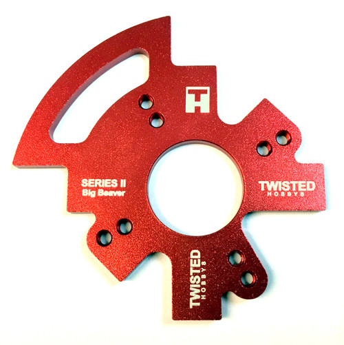 "TMW 43"" Big Beaver Alum Motor Mount - RED -"