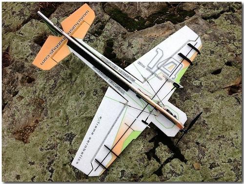 "TH 32"" EPP Crack Yak-55 ""LITE"" Orange/Green"