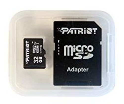 Patriot LX Series 32GB Micro SDHC SD-Card Memory - Class 10 UHS-I