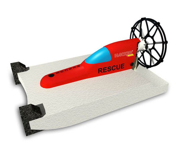 HM - RESCUE - EPP Boat Kit - Red