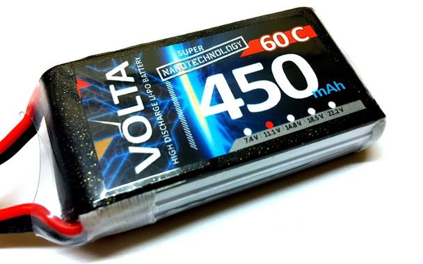Volta 3S 450mah 60~80c Lipo
