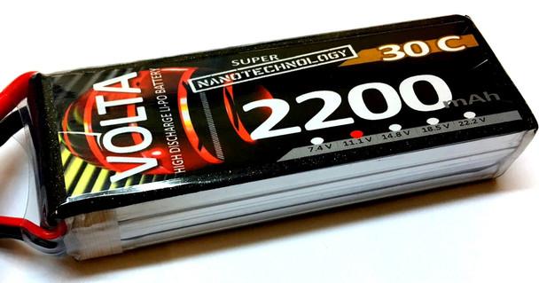 Volta 3S 2200mah 30~60c Lipo