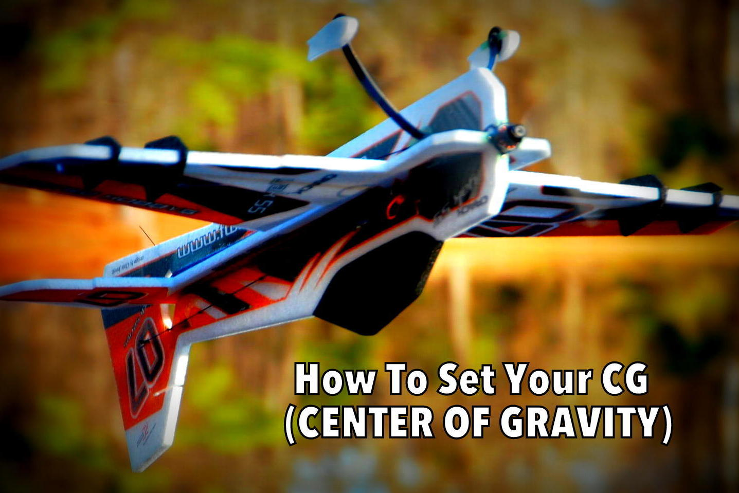 How to Set Center of Gravity on Twisted Hobbys Rc Airplanes