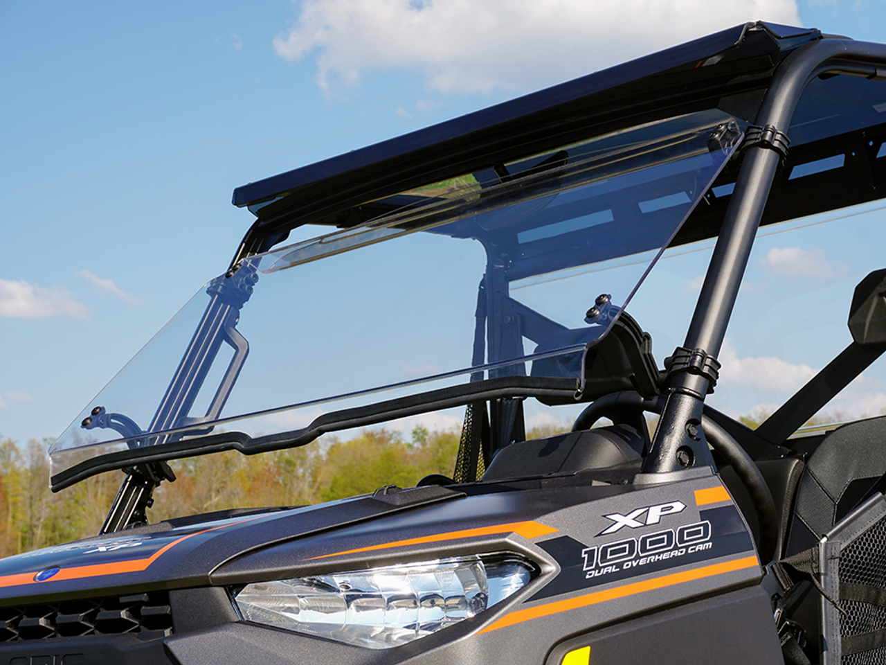 Polaris Ranger Windshield >> Polaris Ranger Pro Fit Xp 1000 Tilting Scratch Resistant Windshield 2018