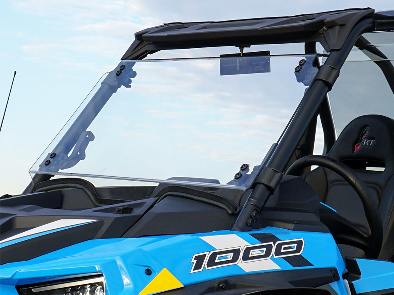 Polaris Rzr 1000 Windshield >> Polaris Rzr Xp 1000 Turbo Full Tilting Windshield
