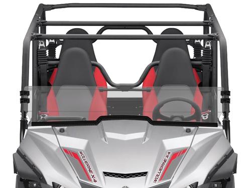 Yamaha Wolverine X-2 / X-4 Scratch Resistant Short Windshield