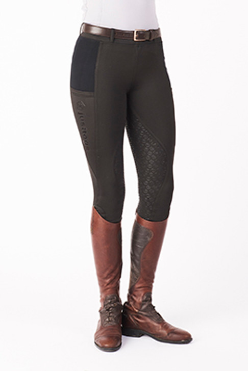 Need some extra warmth for those cold days The Alaska Winter tight is the answer. They have all the features of our current legwear with a full silicon seat double pockets and a high elasticated waistband with the added extra of a brushed cotton lining to keep you cosy. A stretch material for maximum freedom of movement makes these tights a winter must have.
