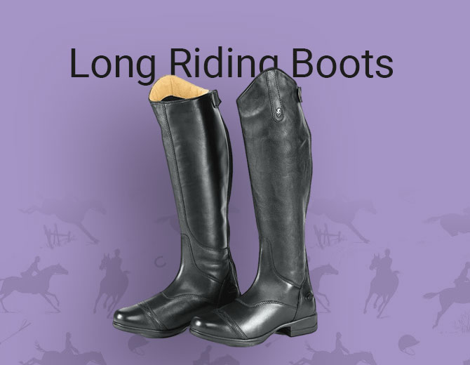Children's Long Riding Boots