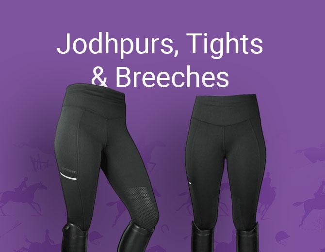 Jodhpurs, Tights & Breeches