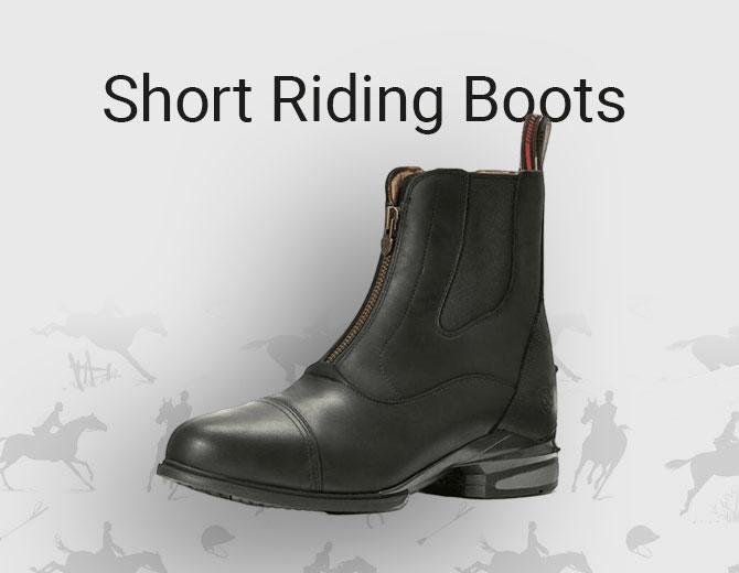 Mens Short Riding Boots