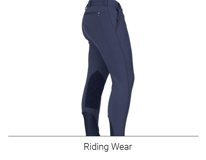 Men's Riding Wear