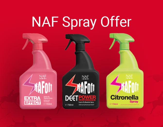 Naf Fly Spray Offer