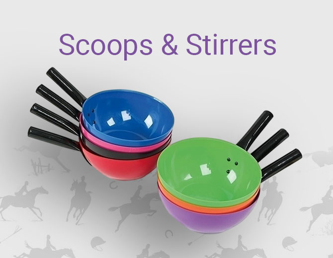 Scoops and Stirrers