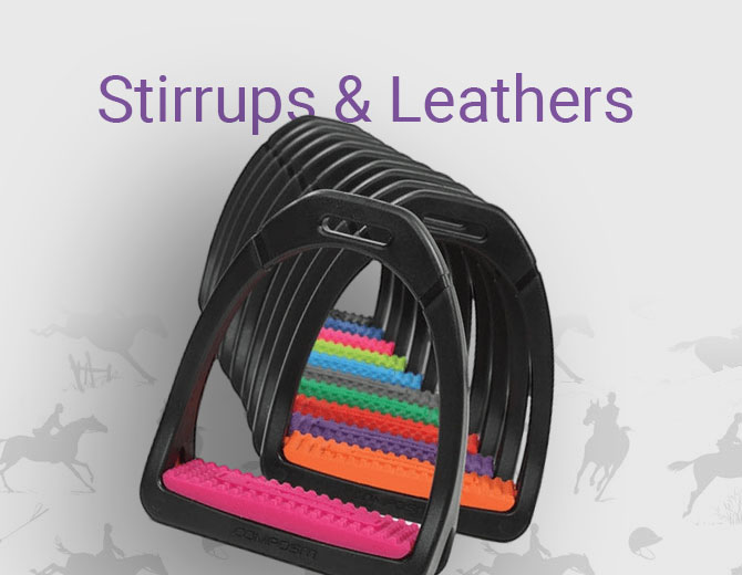 Stirrups and Leathers