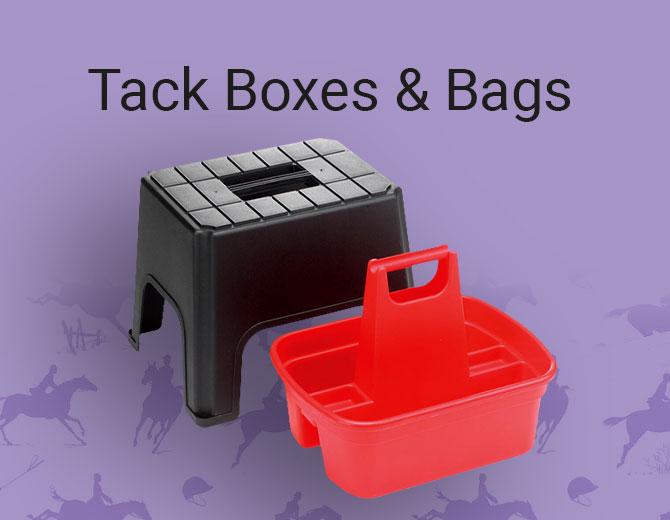 Tack Boxes & Bags