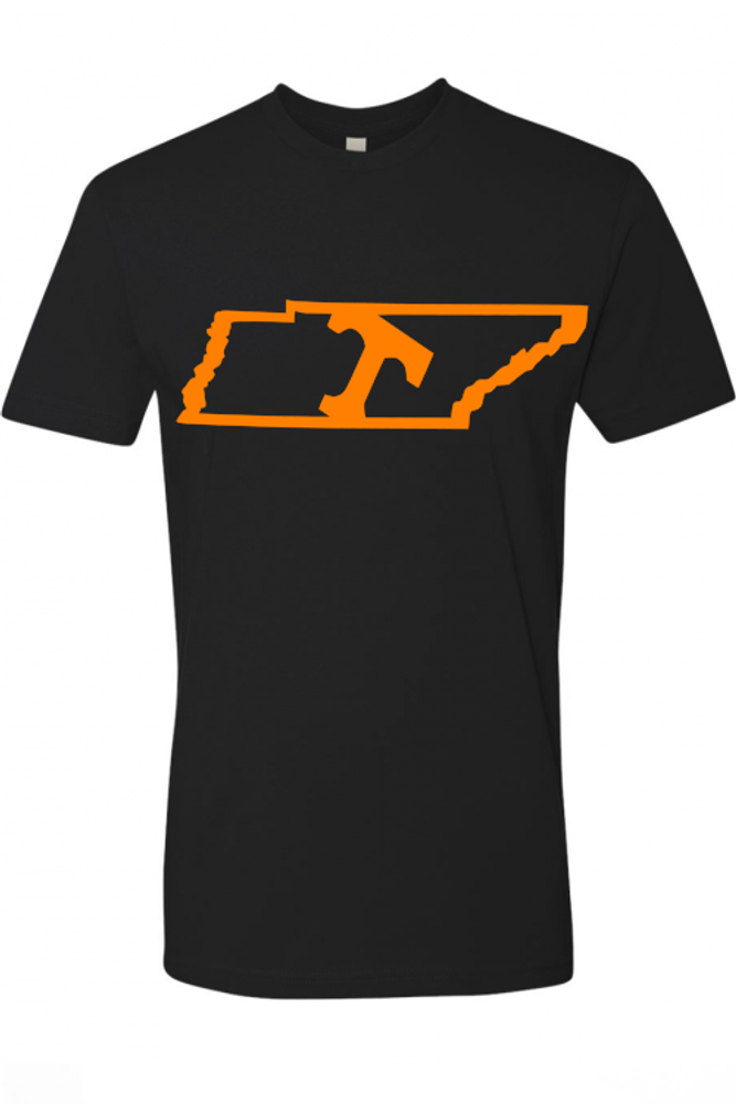 """University of Tennessee """"Tilted Power T"""" Tee"""