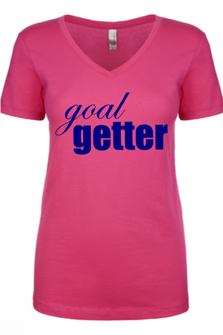 Goal Getter Ladies Tee