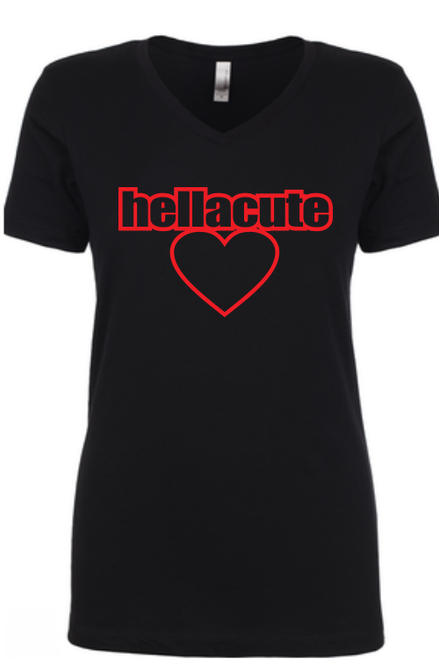 Hella Cute ladies tee