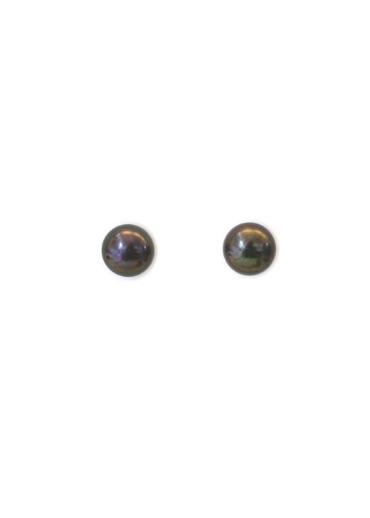 8mm Peacock Pearl Posts