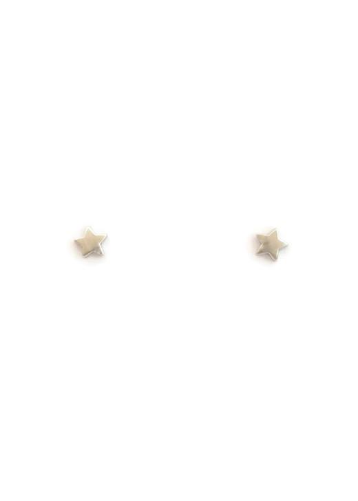 Star Studs- Silver