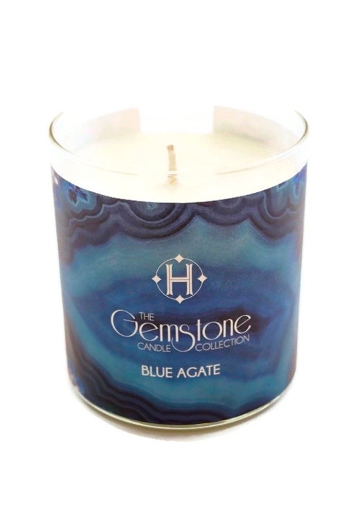 Hermosa Blue Agate Candle