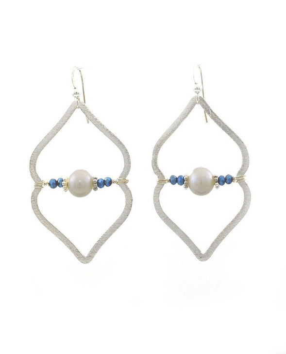 Sahara Earrings- Silver