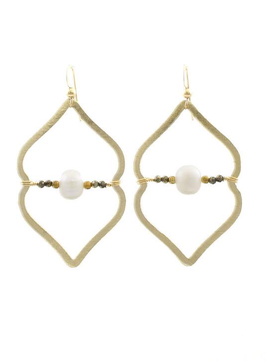 Sahara Earrings- Gold