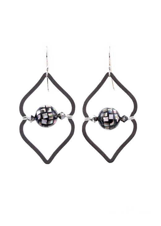 Sahara Earrings- Noir