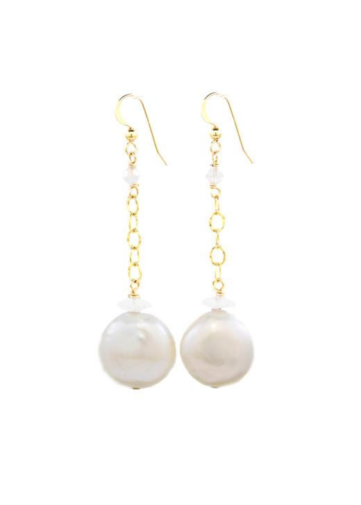 Melanie Pearl Earrings