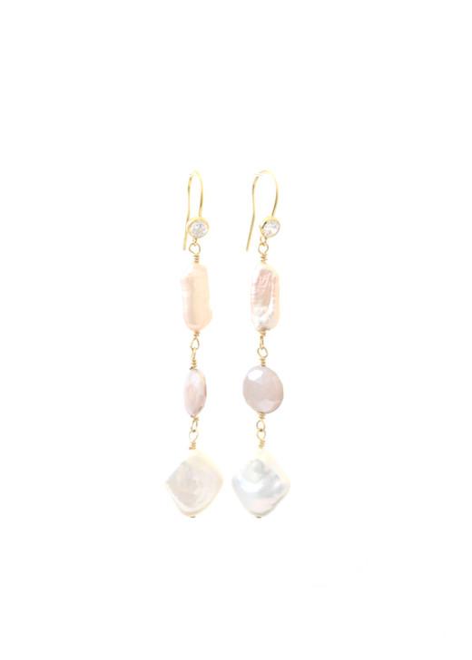 Athena Earrings- Gold