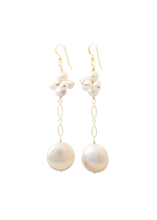 Bali Pearl Earrings