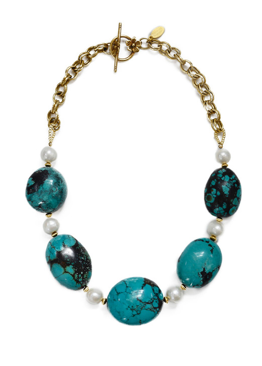 Trenholm Turquoise Necklace