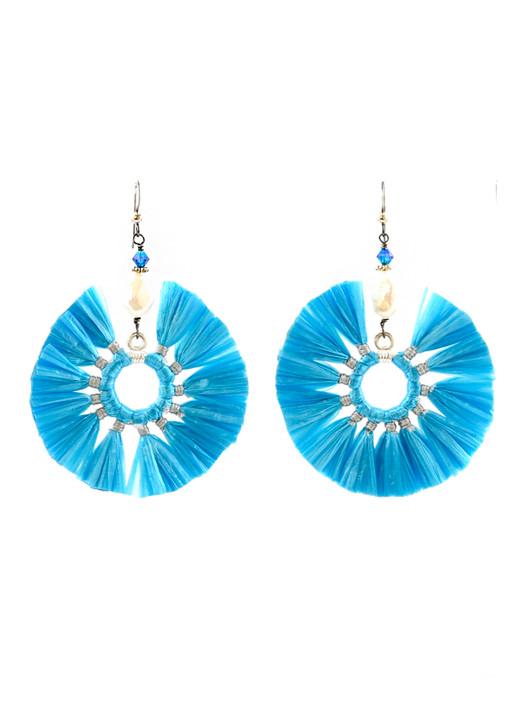 Hula Tassels- Turquoise