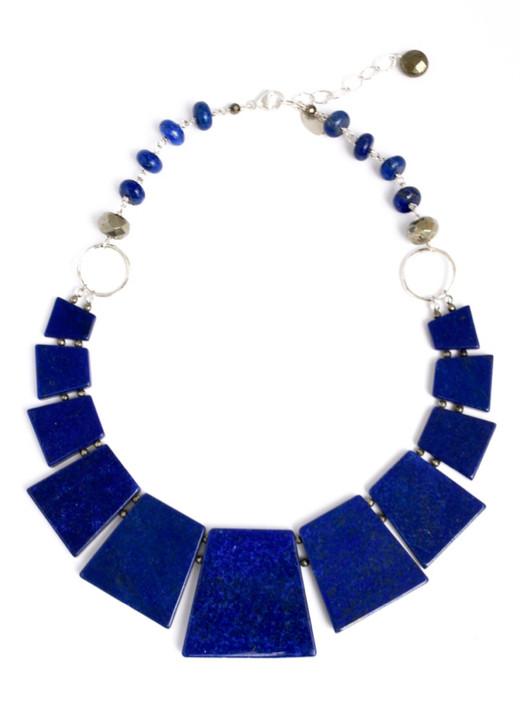 Larkspur Lapis Necklace