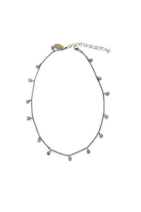 Sarafina Necklace- Labradorite
