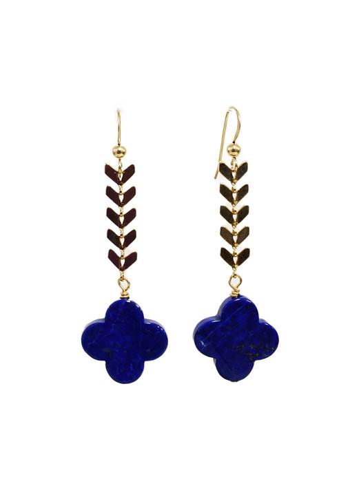 Malaga Quatrefoil Earrings