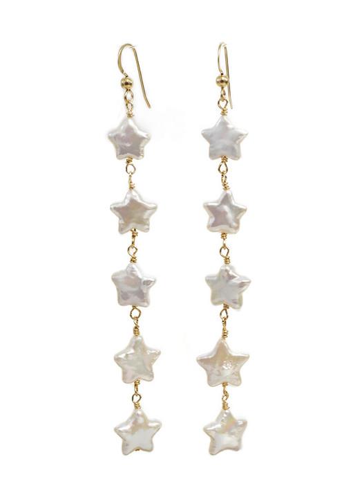 Wish Upon a Star Earrings- Long