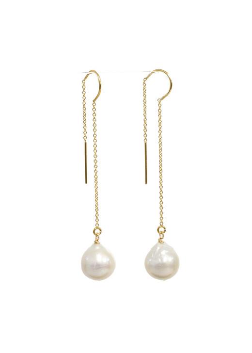Edison Pearl Threaders- White