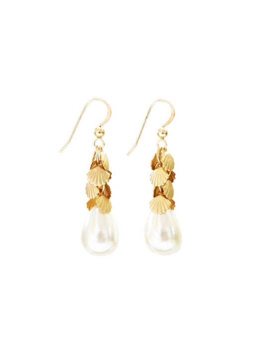 Sarasota Shell Earrings- Short